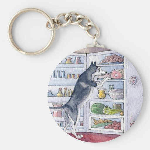 What do I fancy for supper tonight? Key Chains