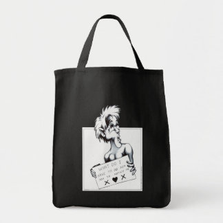 What do I have to do... Grocery Tote Bag