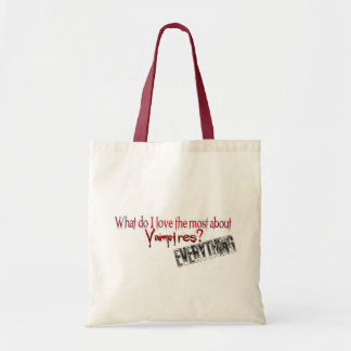 What do I like the most about Vampires? Bags