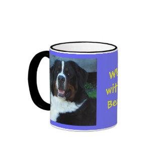 What do I take with my coffee?  Bernese please! Ringer Mug