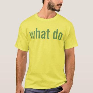 what do T-Shirt