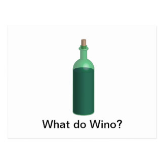 What do Wino Post Card