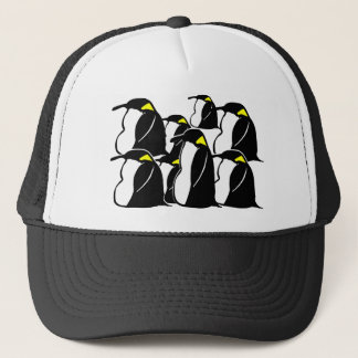 What Do You Call A Group of Penguins? Trucker Hat