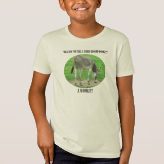 What do you call a three-legged donkey? T-Shirt