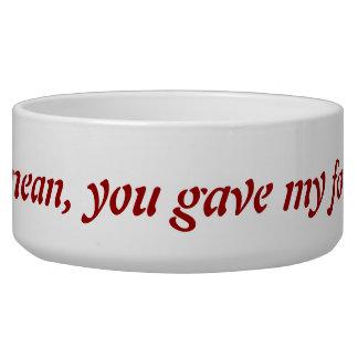 What do you mean Pet Bowl Dog Bowls