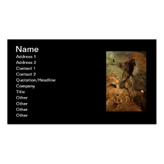 What Do You See? Double-Sided Standard Business Cards (Pack Of 100)