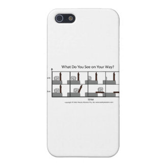 What Do You See On Your Way? Case For iPhone SE/5/5s