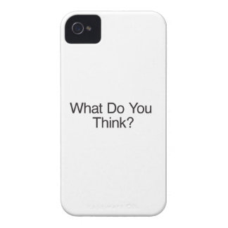 What Do You Think? Case-Mate iPhone 4 Cases