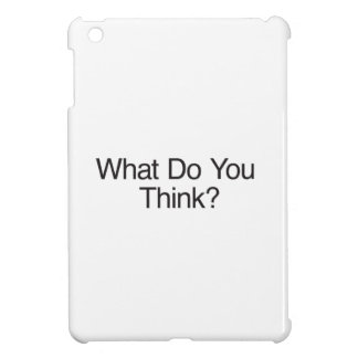 What Do You Think? iPad Mini Cases