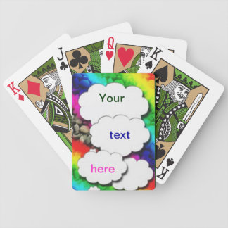 What Do You Think ? Bicycle Playing Cards