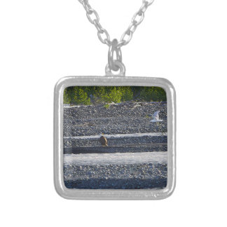 What Do You Think You're Doing? Silver Plated Necklace