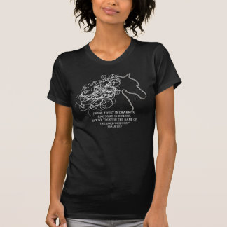 What do you trust in? (Psalm 20:7) T-Shirt