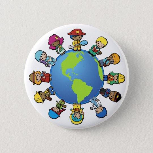 What Do You Want To Be (When You Grow Up) ? Button