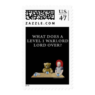 What Does a Level 1 Warlord Lord Over? Postage