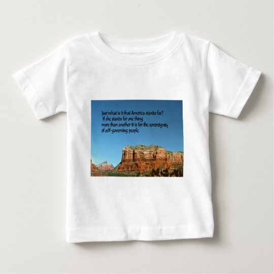 What does America stand for? Baby T-Shirt
