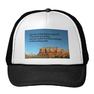What does America stand for? Trucker Hat