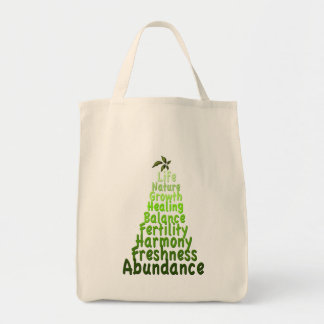 What Does Green Mean Canvas Bag