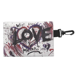 What does Love mean? accessory bag