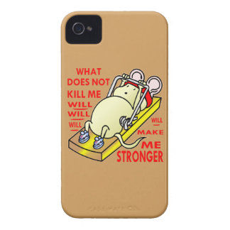 What Does Not Kill Me Will Make Me Stronger iPhone 4 Cover