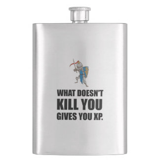 What Does Not Kill You Gives XP Funny Flask