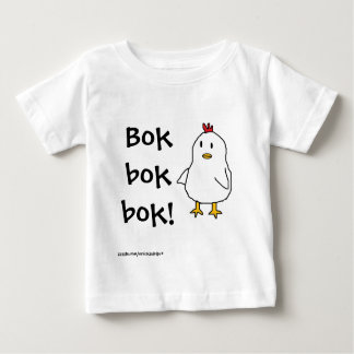 What does the chicken say? t shirt