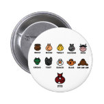 What does the fox say? 2 inch round button