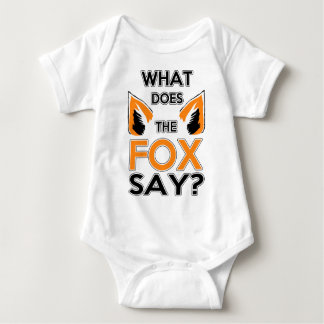 What Does The Fox Say ? Baby Bodysuit
