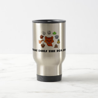 What Does the Fox Say? Charater Mug