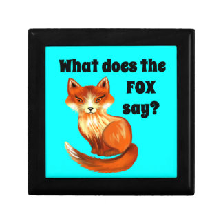 What Does the Fox Say Clothing and Gifts Jewelry Box