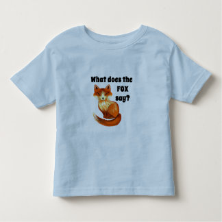 What Does the Fox Say Clothing and Gifts T Shirt