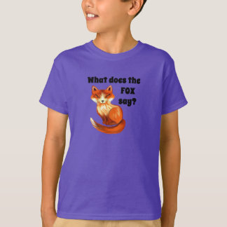 What Does the Fox Say Clothing and Gifts T-Shirt