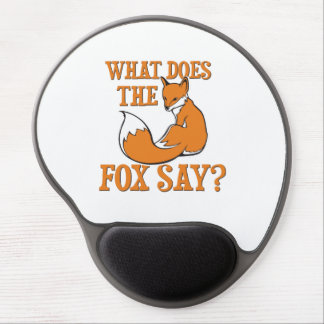 What Does The Fox Say? Gel Mouse Mat