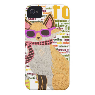 What does the fox say iPhone 4 Case-Mate case