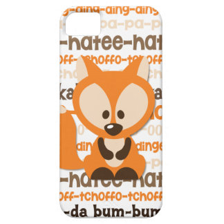 What Does the Fox Say iPhone 5/5s Case