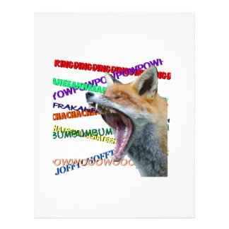 What Does the Fox Say? Personalized Letterhead