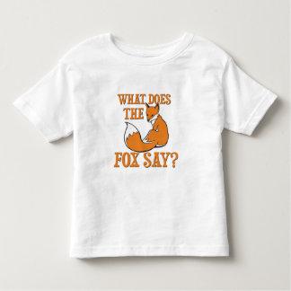What Does The Fox Say? Tshirt