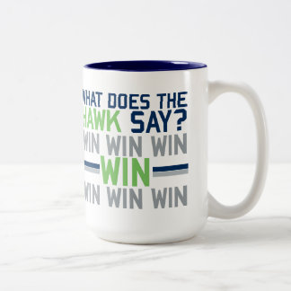 What Does the HAWK Say? Coffee Mugs