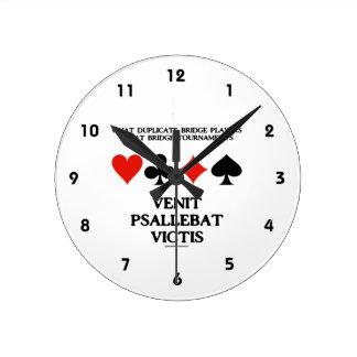 What Duplicate Bridge Do Venit Psallebat Victis Round Clock
