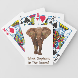 What Elephant In The Room Bicycle Playing Cards