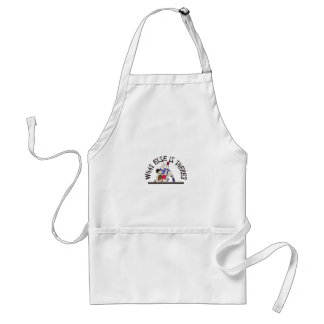 What Else is There? Adult Apron