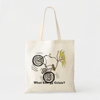 What Energy Crisis? Ride a Bike! Tote Bags