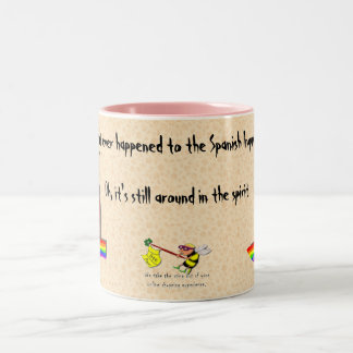 What Ever Happened To The Spanish Inquisition? Two-Tone Coffee Mug