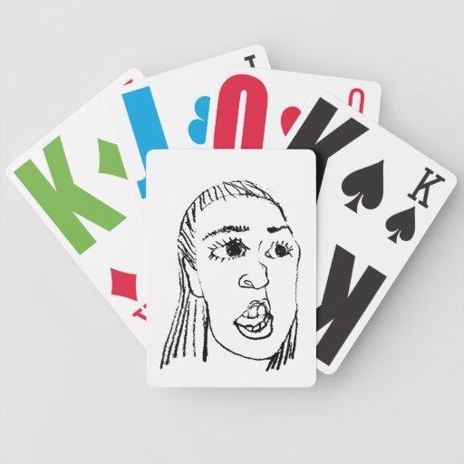 What face card decks