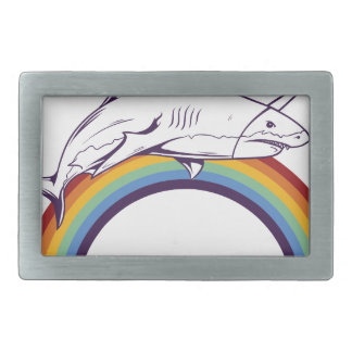 what, fish cool graphic design belt buckle