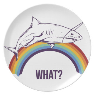 what, fish cool graphic design dinner plate