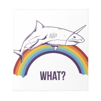 what, fish cool graphic design notepad