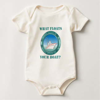 What Floats Your Boat Baby Bodysuit