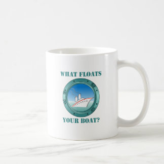 What Floats Your Boat Coffee Mug