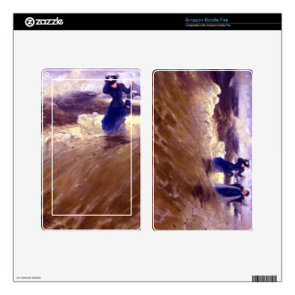 What Freedom! by Ilya Repin Kindle Fire Skin