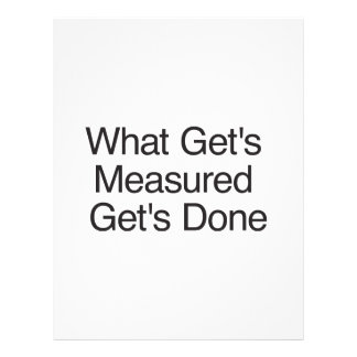 What Get's Measured Get's Done.ai Full Color Flyer